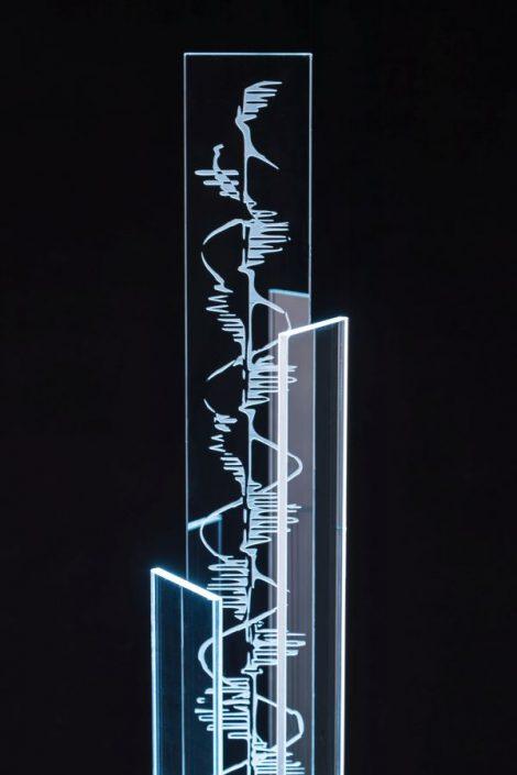 POLEAR Leuchte Wendeltreppe abgestuft