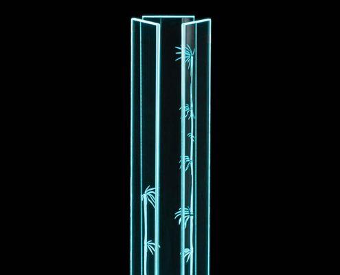 Leuchte_Bambus_80_cyan