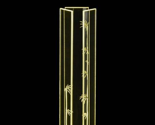 Leuchte_Bambus_80_gelb